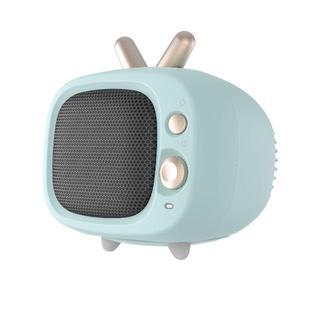 おしゃれで可愛いセラミックヒーター  暖房 2秒速暖 静音(ファンヒーター)