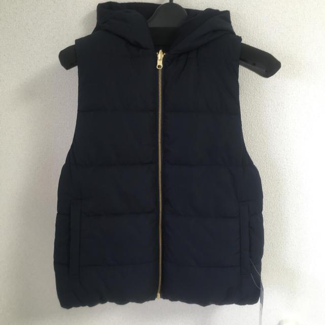 GU(ジーユー)の【新品】gu リバーシブルナカワタベスト レディースのジャケット/アウター(ダウンベスト)の商品写真