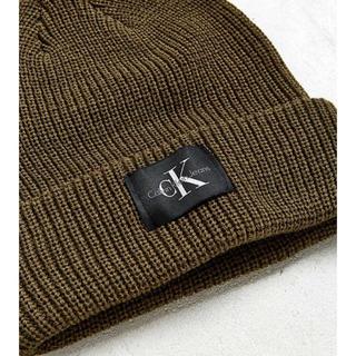 カルバンクライン(Calvin Klein)のカルバンクライン CK ニット帽 ビーニー Calvin Klein(ニット帽/ビーニー)