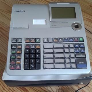 カシオ(CASIO)のカシオ 電子レジスター TE-2700 新品未使用(店舗用品)