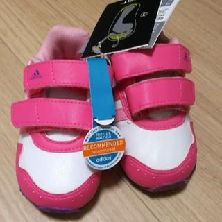 adidas - 新品✳アディダススニーカー 12cm ピンク