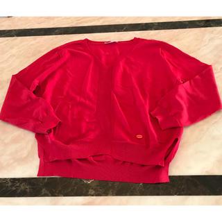 ナラカミーチェ(NARACAMICIE)のナラカミーチェ 赤色ニット(ニット/セーター)