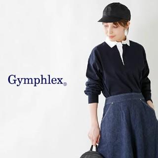 ジムフレックス(GYMPHLEX)のジムフレックス  ラグビーシャツ  ネイビー(シャツ/ブラウス(長袖/七分))