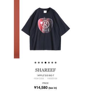 シャリーフ(SHAREEF)のShareef シャリーフ 半袖 apple s/s BIG-T(Tシャツ/カットソー(半袖/袖なし))