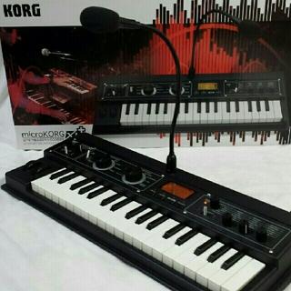 コルグ(KORG)のKORG microKORG XL+ 美品(キーボード/シンセサイザー)