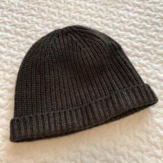 クルチアーニ(Cruciani)のクルチアーニwool100新品ニット帽(ニット帽/ビーニー)