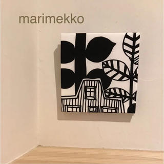 マリメッコ(marimekko)の1点のみ✴︎レア♡ファブリックパネル*マリメッコ リントゥコト(ファブリック)