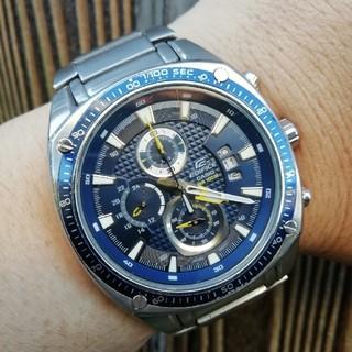 エディフィス(EDIFICE)の値下げ!CASIO エディフィス メンズ腕時計!(腕時計(アナログ))