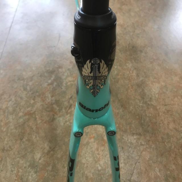 限定品 2019ビアンキ オルトレ XR4フレーム フルーネヴェーヘン レプリカ スポーツ/アウトドアの自転車(自転車本体)の商品写真