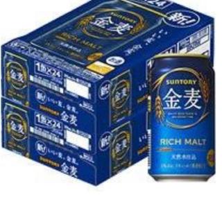 サントリー(サントリー)のさくらもち様専用 サントリー 金麦 350ml×24本 2ケース(ビール)
