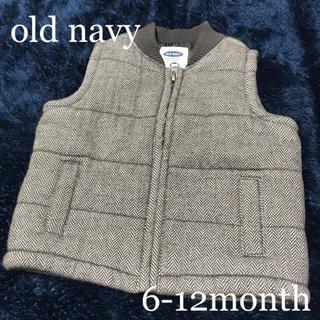オールドネイビー(Old Navy)のold navyダウン風ベスト/6-12month(ジャケット/コート)