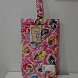 ディズニー(Disney)のまゆゆり様専用☆入園☆入学に!プリンセスのシューズバッグ(バッグ/レッスンバッグ)