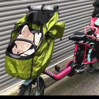 自転車レインカバー   前用(自動車用チャイルドシートカバー)