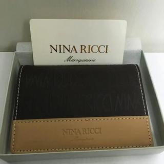 ニナリッチ(NINA RICCI)の【新品】NINA RICCI カードケース(名刺入れ/定期入れ)