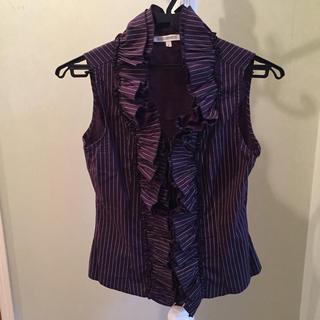 ナラカミーチェ(NARACAMICIE)のナラカミーチェ サイズ1 フリルブラウス(シャツ/ブラウス(半袖/袖なし))