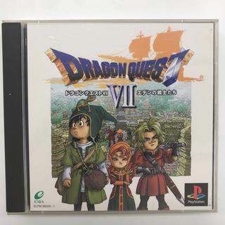 プレイステーション(PlayStation)の中古 ドラゴンクエスト7 【エデンの戦士たち】(家庭用ゲームソフト)