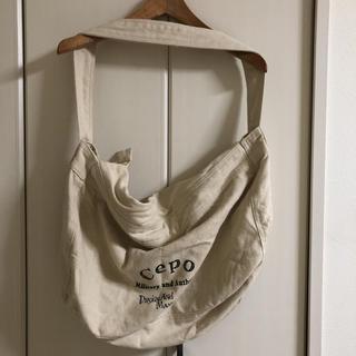 セポ(CEPO)のcepo コットンバッグ(ショルダーバッグ)