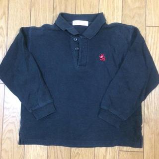 シャマ(shama)の黒のポロシャツ(Tシャツ/カットソー)