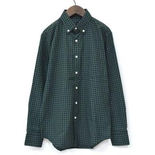 エヌハリウッド(N.HOOLYWOOD)のN.HOOLYWOOD エヌハリウッド ギンガムチェックシャツ 38(シャツ)