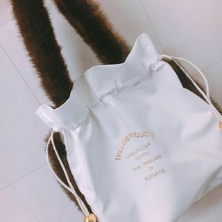 シアタープロダクツ(THEATRE PRODUCTS)のシアタープロダクツ 巾着ファーバッグ(ショルダーバッグ)