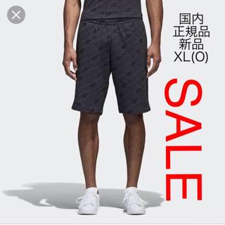 adidas - ORIGINALS トレフォイル総柄 ショーツ CE1552 XL(O)