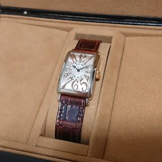 フランクミュラー(FRANCK MULLER)のヤスオン様専用 フランク・ミュラー☆ロングアイランド箱 保証(腕時計)