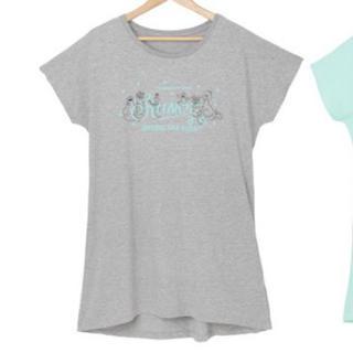 SHINee 公式 セサミ グレー パジャマワンピース ルームウェア Tシャツ