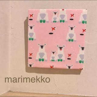 マリメッコ(marimekko)の廃盤✴︎レア*** ファブリックパネル*マリメッコ ピエニ ヤーカルフ(ファブリック)
