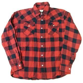 ウールリッチ(WOOLRICH)のwoolrich ウールリッチ 長袖シャツ チェックシャツ M(シャツ)