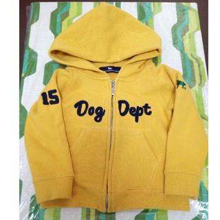 ドッグデプト(DOG DEPT)のDOGDEPT パーカー 90(ジャケット/上着)
