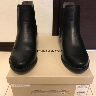 ジーナシス(JEANASIS)のJEANAS*ジーナシス*ショートブーツ*Lサイズ(ブーツ)