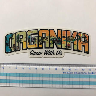 オーガニカ(ORGANIKA)の新品未使用 ORGANIKA オーガニカ クリアステッカー(その他)