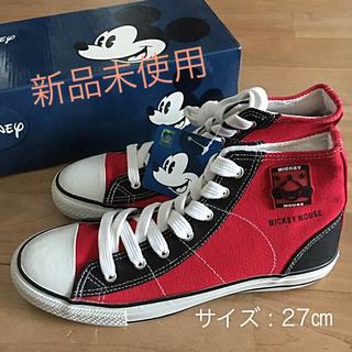 ディズニー(Disney)のDisneyミッキーマウス ハイカット スニーカー(スニーカー)