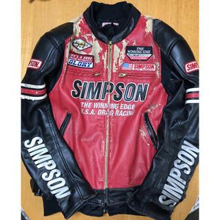 シンプソン(SIMPSON)の秋冬SIMPSONライダースジャケットL(ライダースジャケット)