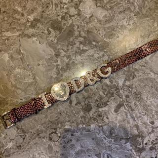 ディーアンドジー(D&G)のdolce&gabbana D&G 腕時計(腕時計)