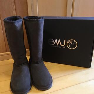 エミュー(EMU)のemuムートンブーツ25cm(ブーツ)