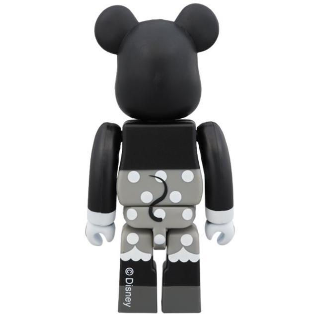 MEDICOM TOY(メディコムトイ)のベアブリック ミッキーマウス&ミニーマウス 100%(B&W Ver.)2PC エンタメ/ホビーのフィギュア(その他)の商品写真