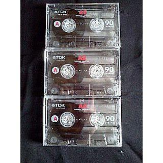 ティーディーケイ(TDK)の送料無料 TDK オーディオ カセットテープ 3本(その他)