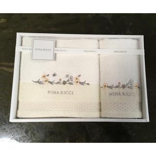 ニナリッチ(NINA RICCI)の【新品・未使用】 タオルセット(╹◡╹)(タオル/バス用品)