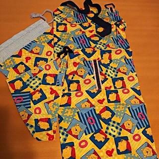 ディズニー(Disney)のプーさん エプロン、三角巾、袋 (ファッション雑貨)