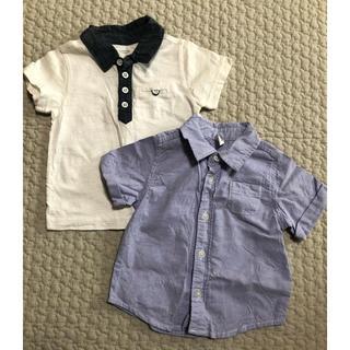 オールドネイビー(Old Navy)のOLD NAVY 襟付きシャツ2枚セット(シャツ/カットソー)