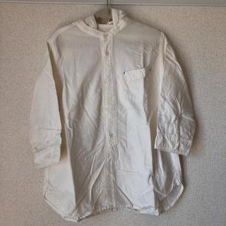 ニコアンド(niko and...)のR様専用 ※シミあり フード付七分袖シャツ(シャツ/ブラウス(長袖/七分))