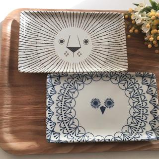 ハサミ(HASAMI)の美濃焼 新品 長皿セット ☻ 波佐見焼 白山陶器 クラスカ イデー 九谷焼 青(食器)