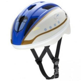 ジェイアール(JR)の新品 未使用 新幹線E7系かがやき かがやき 子供用 ヘルメット 53-56cm(自転車)