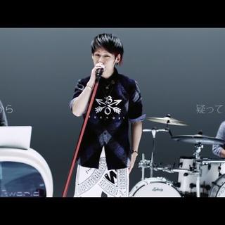 エム(M)のBURNOUTクロスドアローチェックシャツ 青(シャツ)