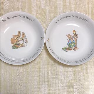 ウェッジウッド(WEDGWOOD)のピーターラビット パスタ皿(食器)