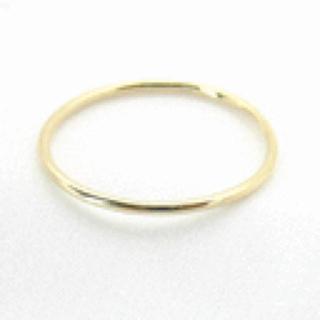 アッシュペーフランス(H.P.FRANCE)のsweet peaの18金極細リング(リング(指輪))