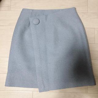 ウィルセレクション(WILLSELECTION)のWILLSELECTION/ウィルセレクション*起毛風巻きスカート*S(ミニスカート)