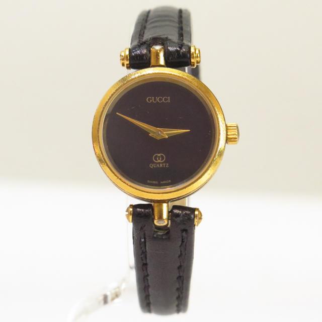 1bba7a9f5bec Gucci(グッチ)のグッチ 腕時計 クオーツ ベルト社外 GUCCI レディースのファッション小物(