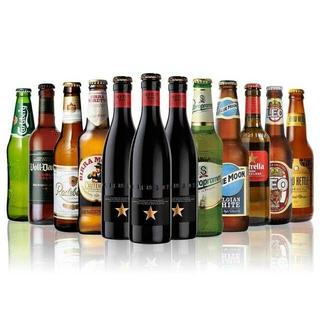 153.世界のビール12本飲み比べギフトセット スペイン産高級ビール3本入(ビール)
